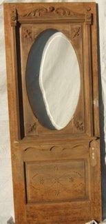 706: Victorian Bevel Glass Door