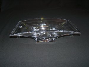 719: Nambe Handcrafted in Slovenia Crystal Bowl