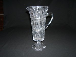 720: Crystal Etched Pitcher