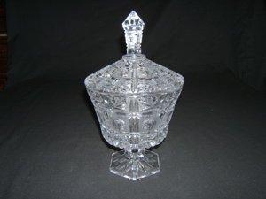 723: Crystal Candy Dish