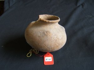 1005: Pre-Columbian Globular Vessel