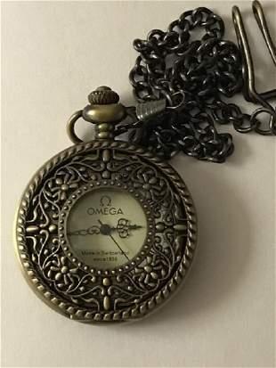 Elegant OMEGA Swiss Mechanical VTG Pocket Watch