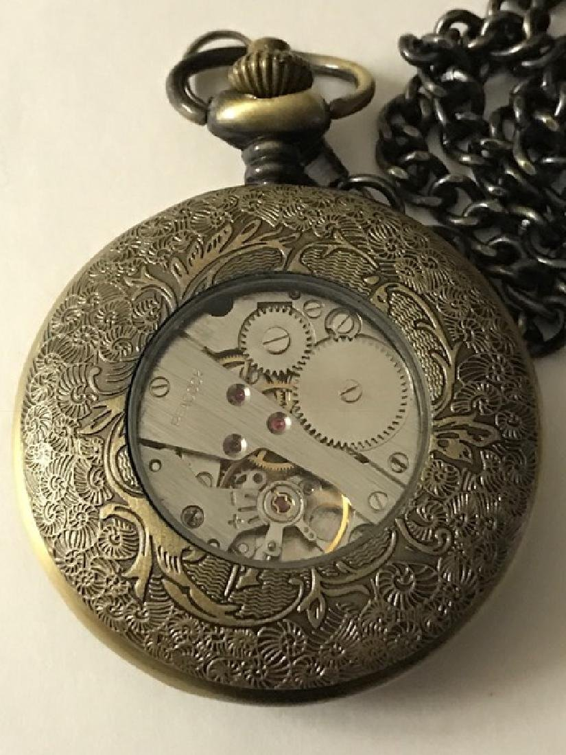 Elegant OMEGA Swiss Mechanical VTG Pocket Watch - 2