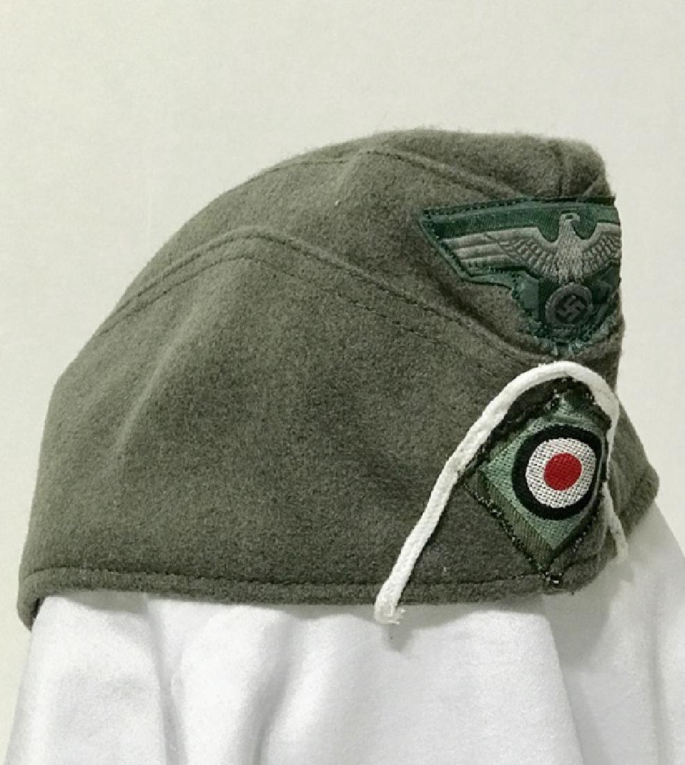 Authentic German Nazi Soldier's Wool Uniform Hat