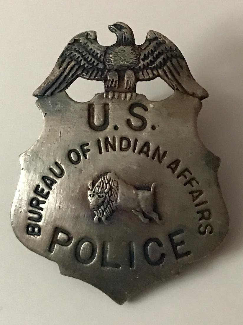 Bureau of Indian Affairs Old West US Police Badge