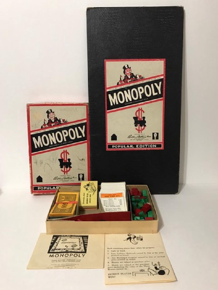 Rare 1954 Parker Brothers MONOPOLY Game