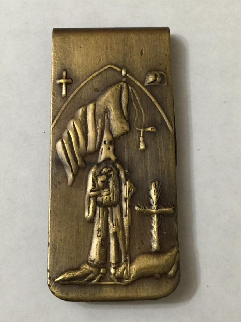 KKK - Klan Member Money Clip Salem Mass Witch