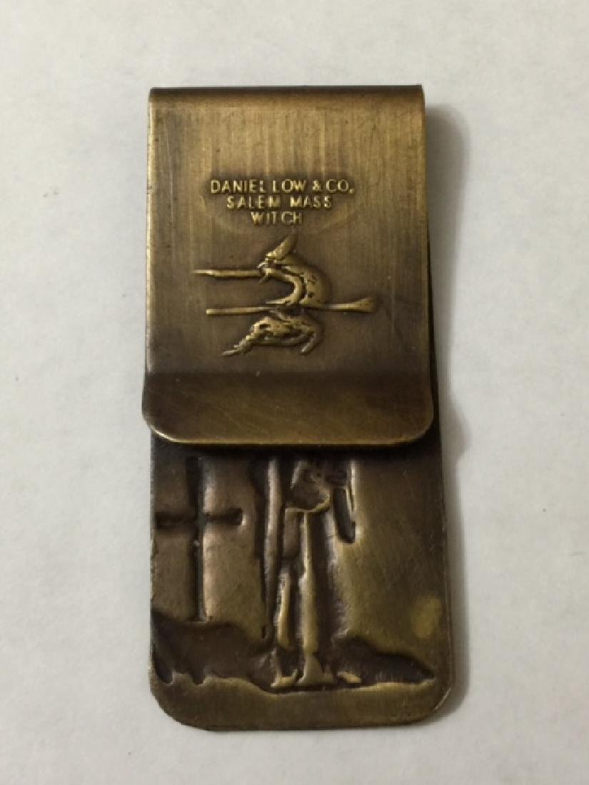 KKK - Klan Member Money Clip Salem Mass Witch - 2