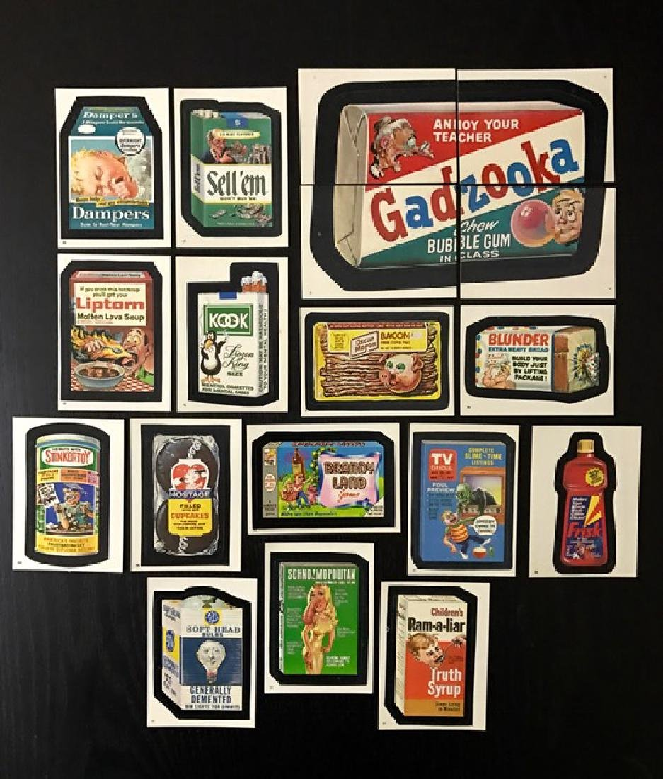 18 Rare Original TEST Issue Wacky Packages Cards
