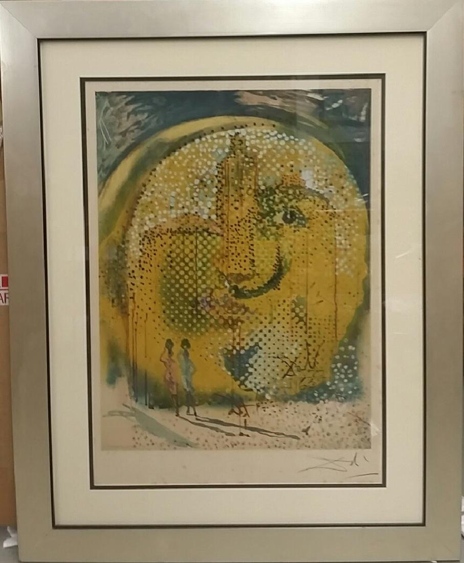 Beautiful Limited Pencil Signed Salvador Dali