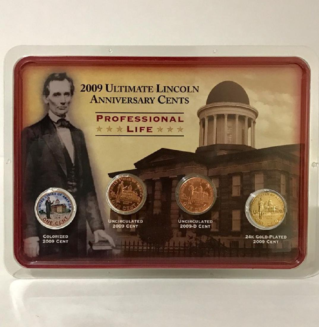 Ultimate ABRAHAM LINCOLN Uncirculated Coins Set