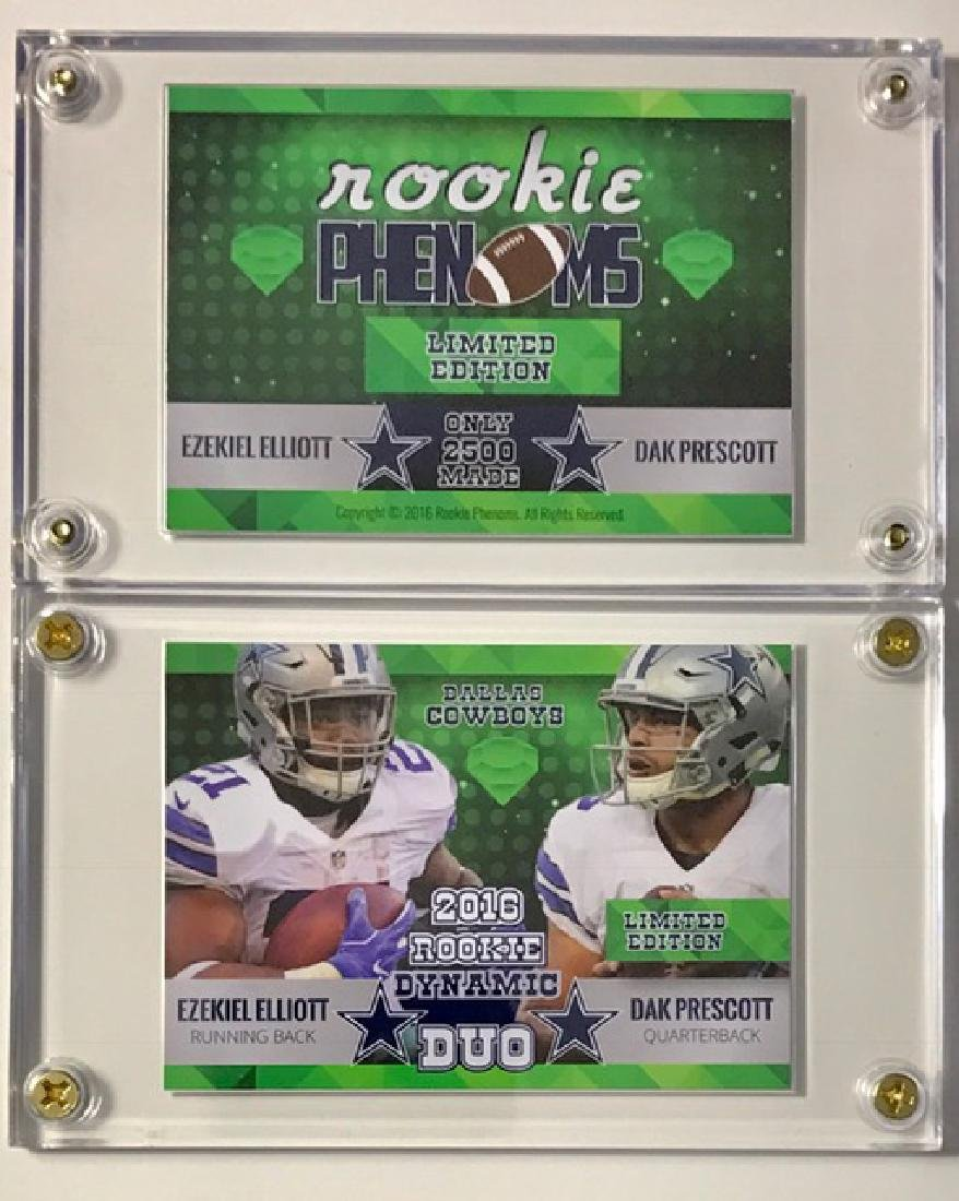 Rare PRESCOTT & ELLIOTT Rookie DUO Football Card