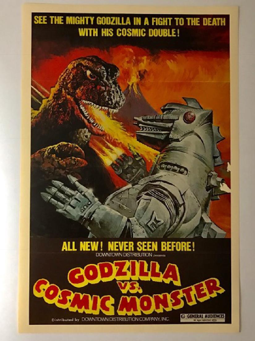 GODZILLA vs. COSMIC MONSTER Lobby Card Poster