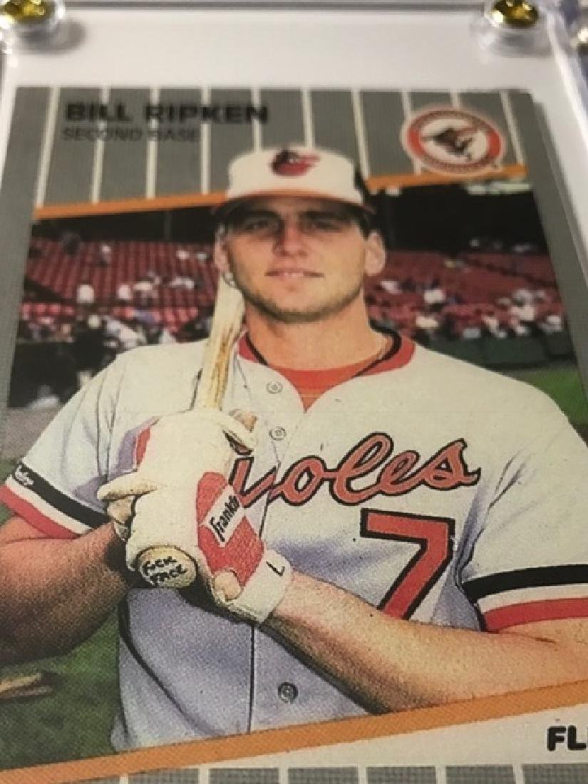 "2 Bill Ripken ""Fuck Face†ERROR Baseball Cards - 2"