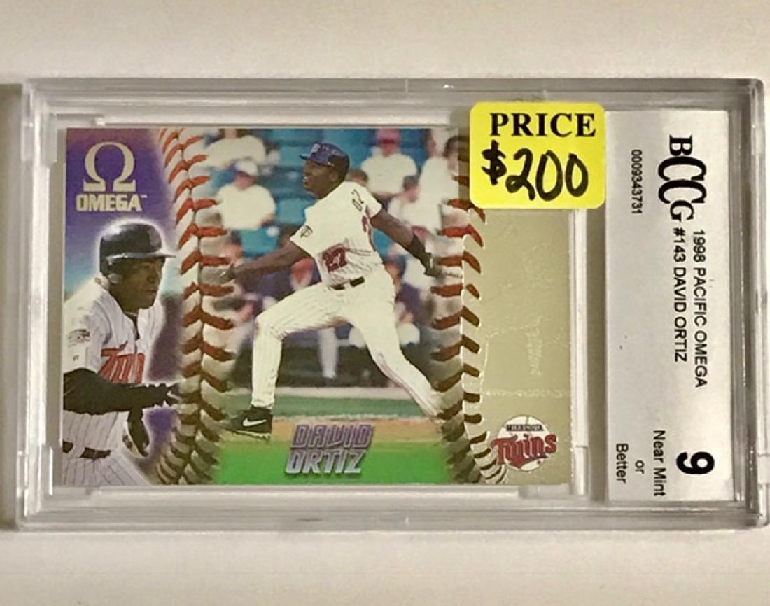 Mint Grade DAVID ORTIZ Rookie Baseball Card