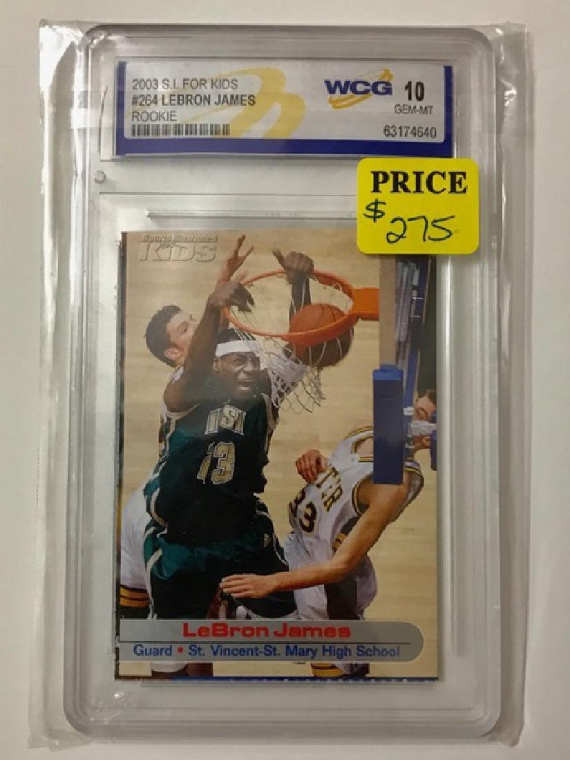 LEBRON JAMES Pre-NBA Rookie Basketball Card