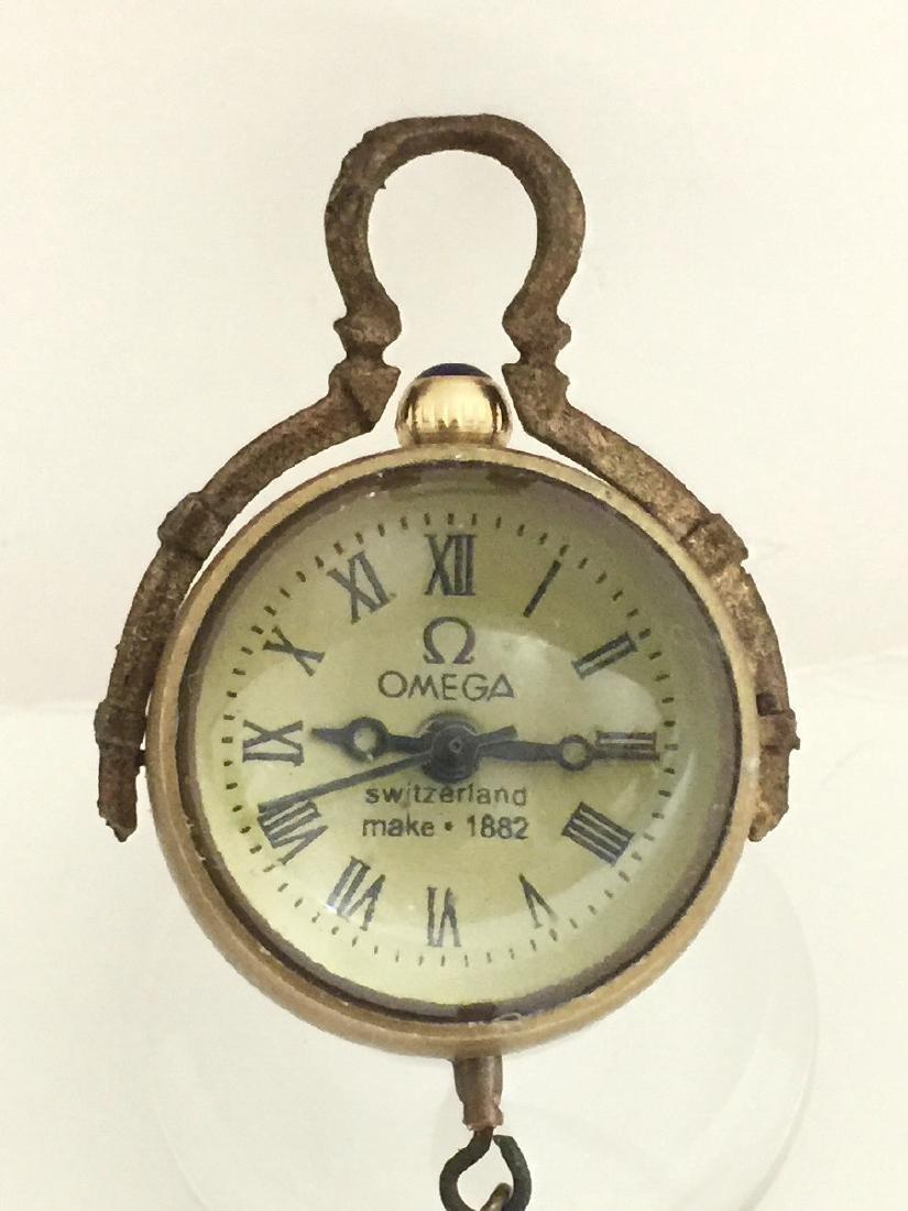 VTG Swiss Omega Working Spherical Mechanical Clock
