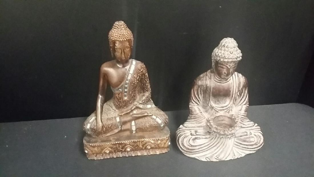 Lot of 2 Vintage Kwan Yin Figures