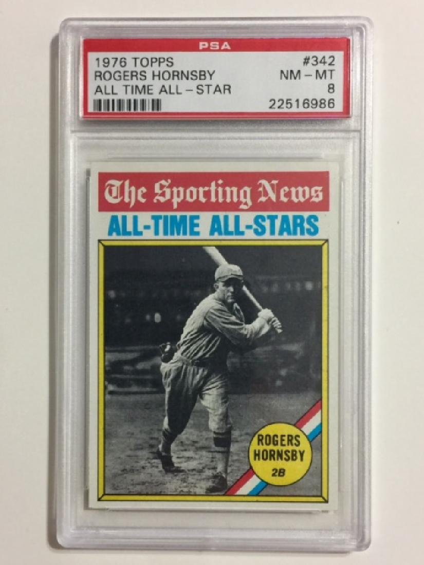 ROGERS HORNSBY All Time All-Star Baseball Card