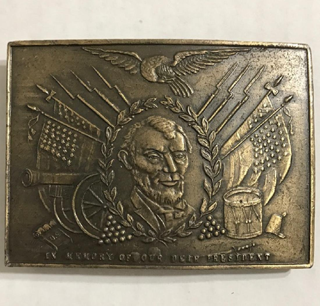Official Civil War/Abraham Lincoln Belt Buckle