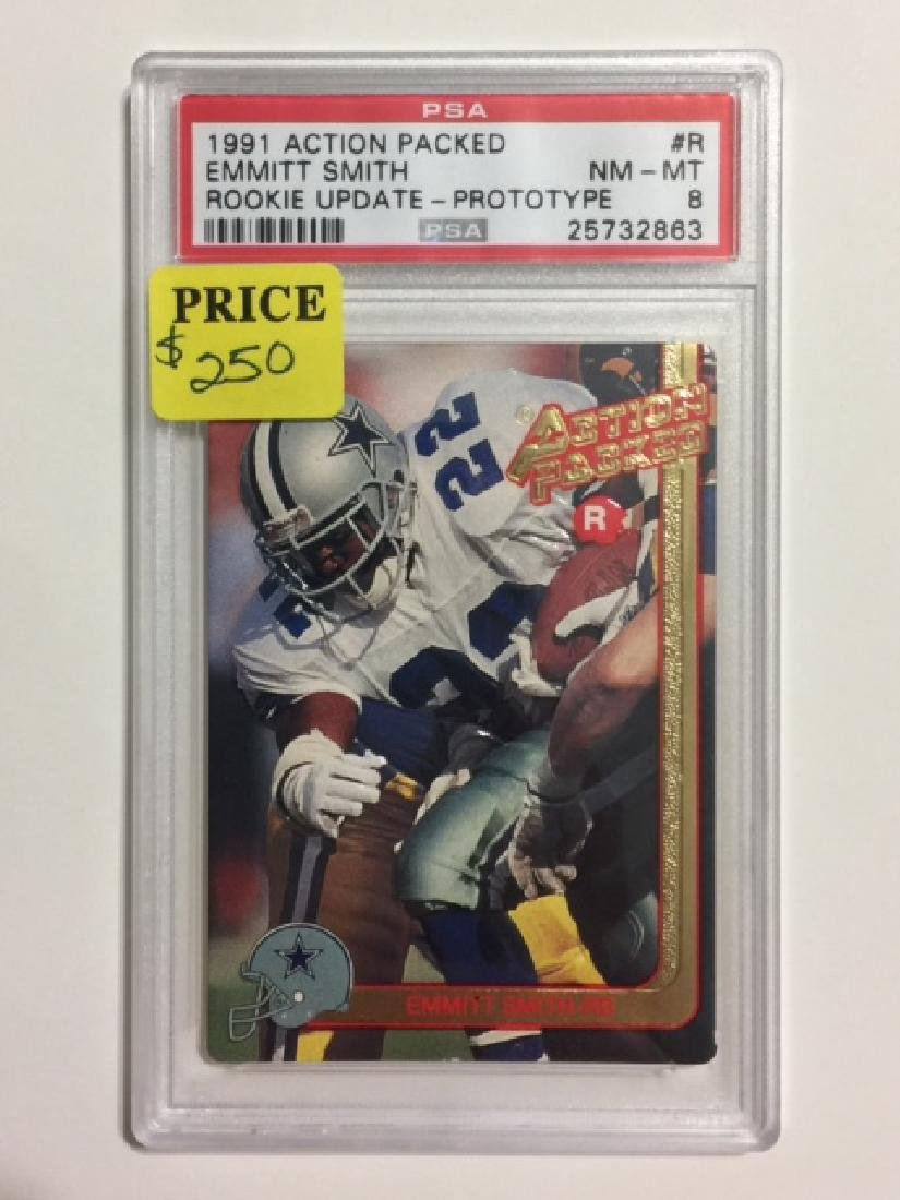 "Rare EMMITT SMITH ""Prototype"" Rookie Football Card"