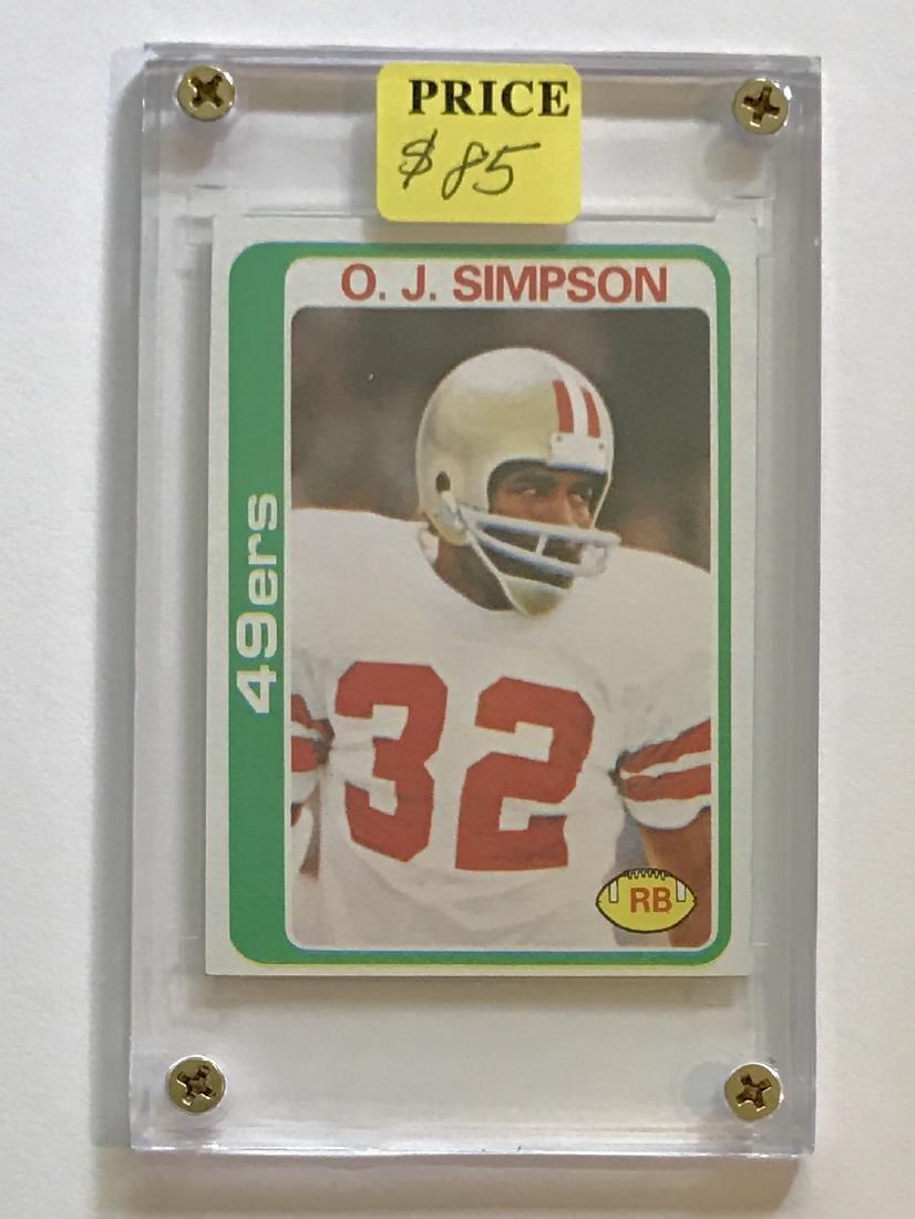 1977 N-Mint O.J. SIMPSON Topps Football Card
