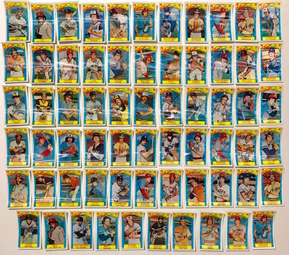 65 Rare Original 1979 Kellogg's 3-D Baseball Cards