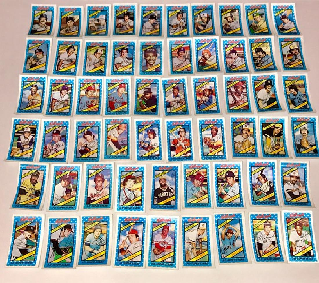 59 Rare Original 1980 Kellogg's 3-D Baseball Cards