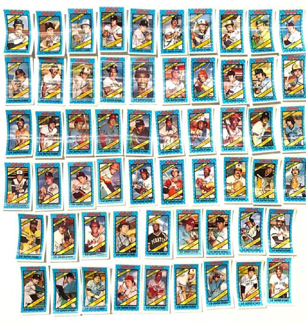 59 Rare Original 1980 Kellogg's 3-D Baseball Cards - 2