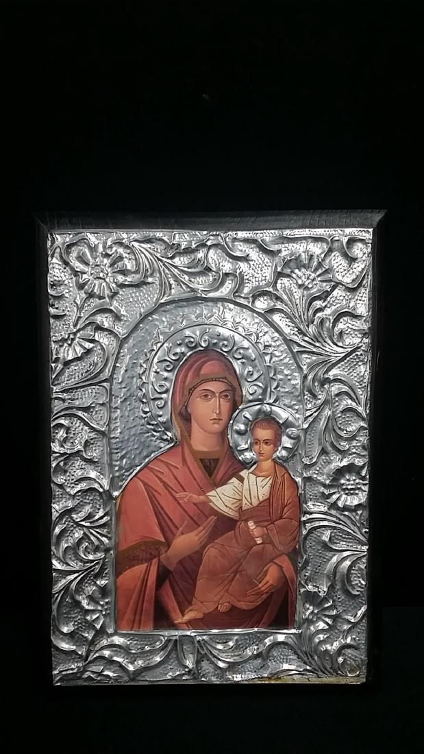 Vintage Style Russian Icon