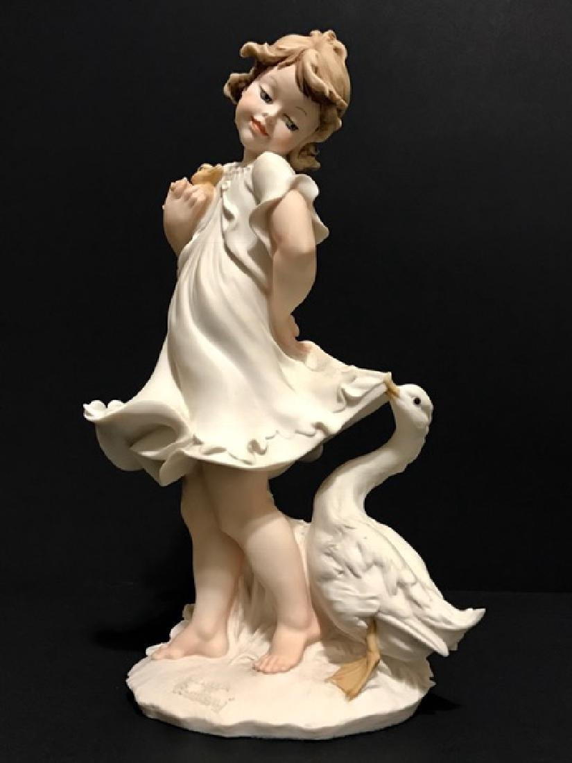 """Beautiful Signed GIUSEPPE ARMANI Figurine 11"""""""