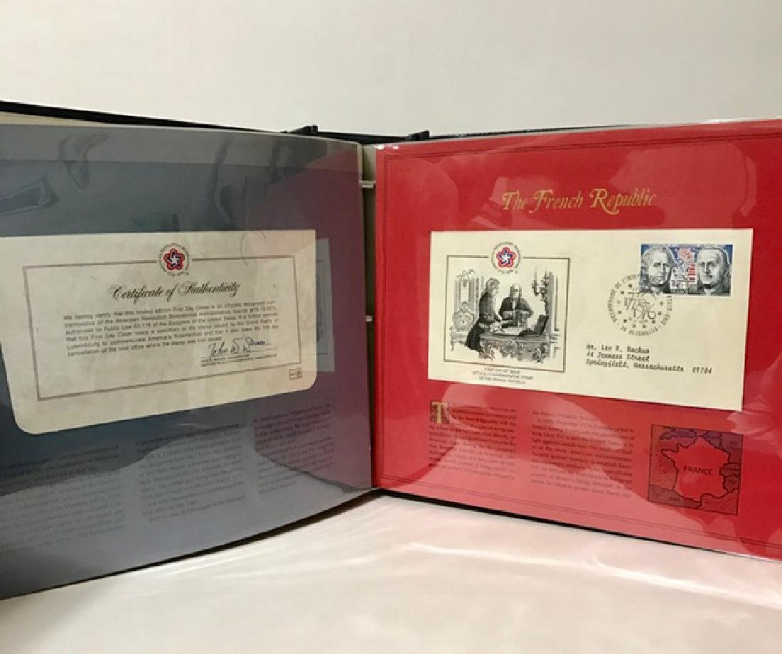 American Revolution 1st Day Cover Stamp Collection