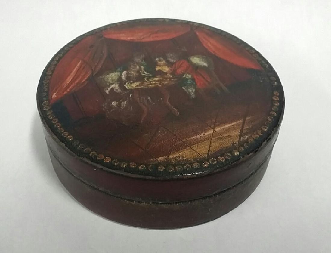 19th Century Italian Style Hand Painted Box