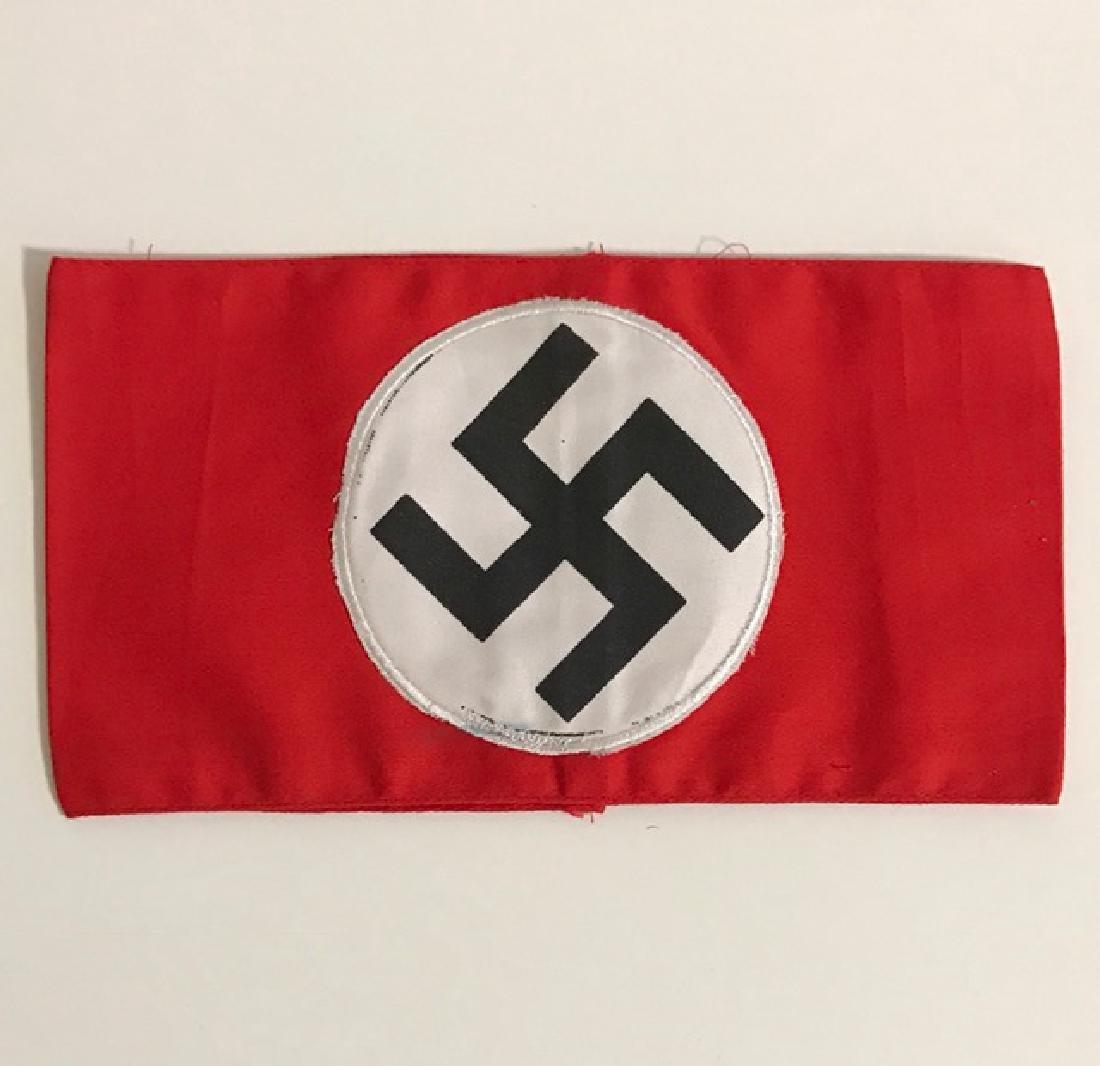 German Nazi Swastika Uniform Armband