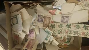 Large Lot of Assorted Vintage Stamps