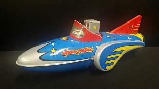 Vintage Style Tin Space / Rocket Toy
