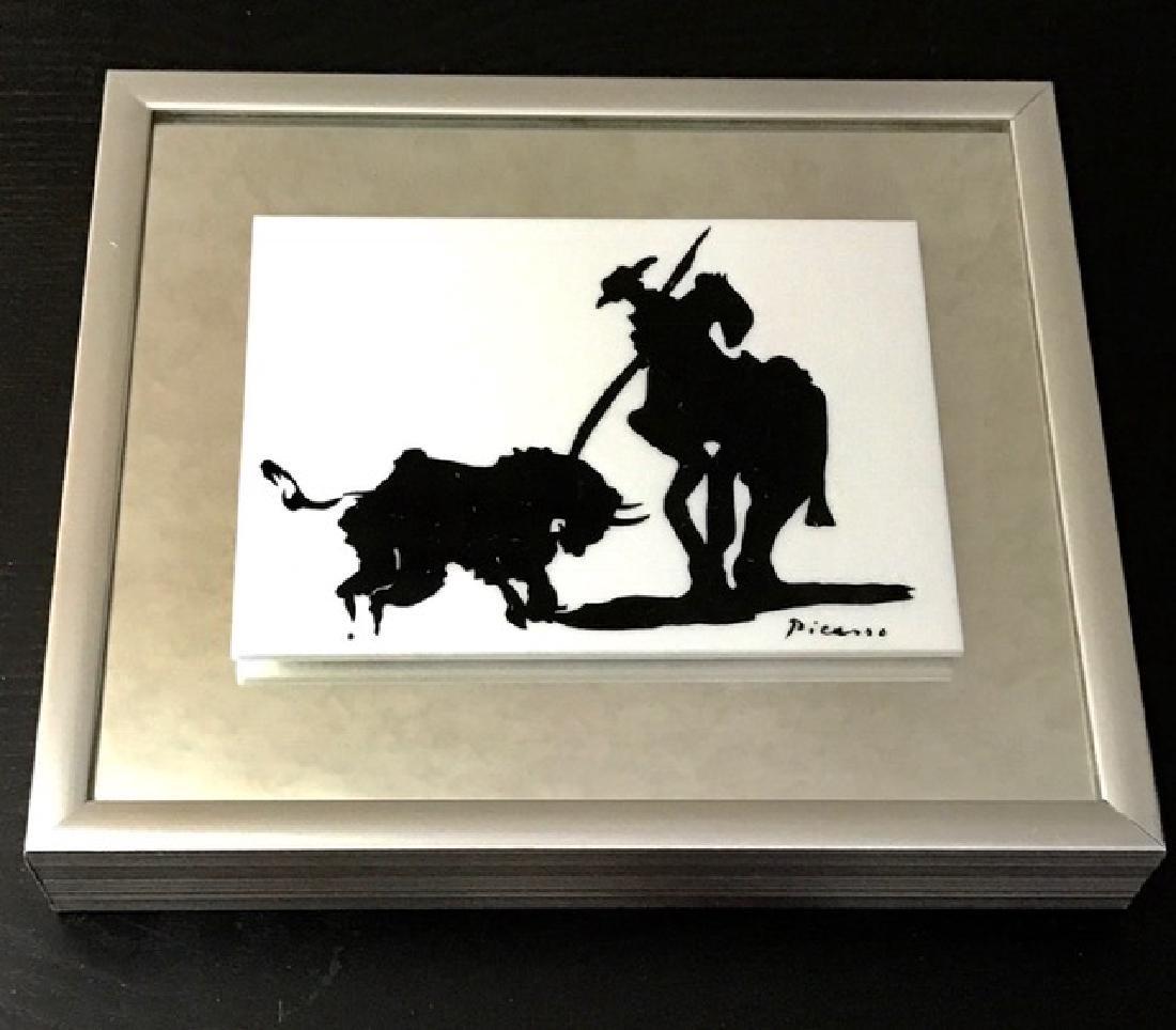 Authentic PABLO PICASSO Spanish Toreador Serigraph