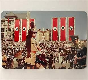 German Nazi Adolf Hitler Inauguration Metal Sign