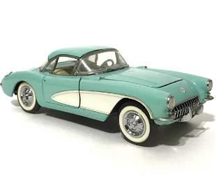 1956 Corvette FRANKLIN MINT Precision Die-Cast Car