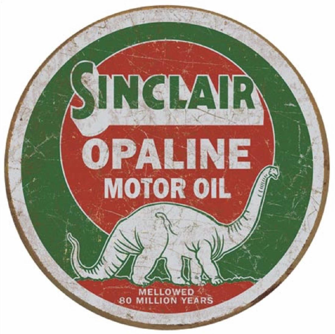 SINCLAIR Opaline Motor Oil Nostalgic Metal Sign