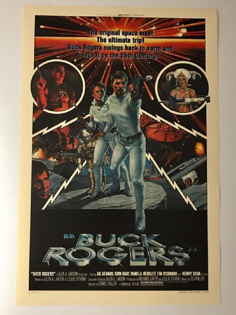 1979 BUCK ROGERS Movie Theatre Lobby Card Poster
