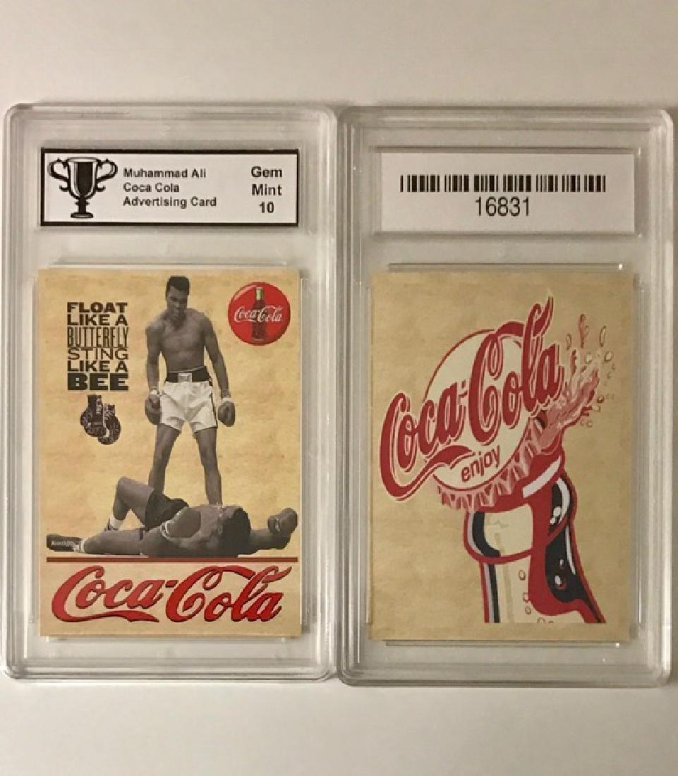 MUHAMMAD ALI Coca-Cola Advertising Boxing Card
