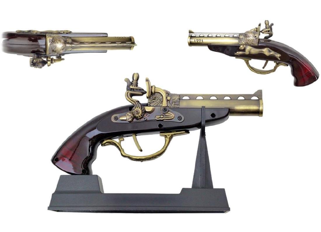 """1771 """"The Nobleman"""" Flintlock Pistol Gun READ ON"""