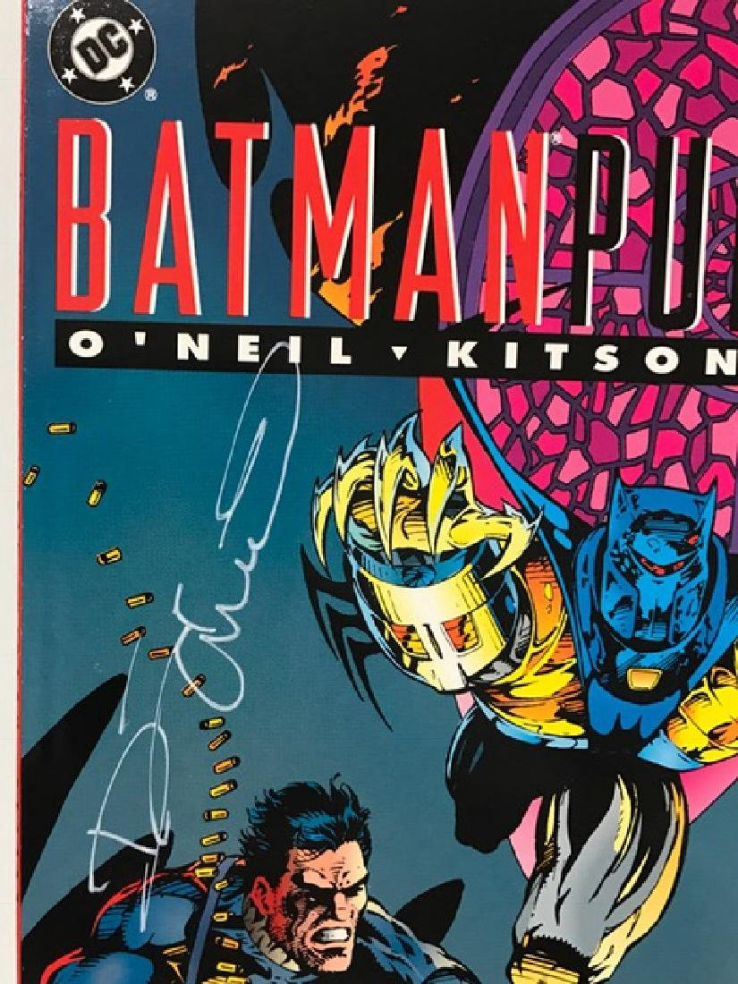 Authentic Hand Signed BATMAN/PUNISHER Comic Book - 2