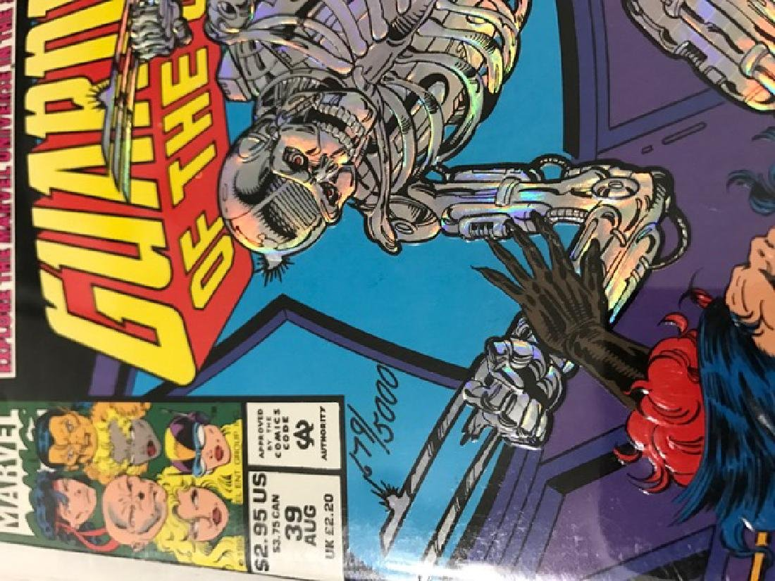 Authentic Sign GUARDIANS of the GALAXY Comic Book - 3