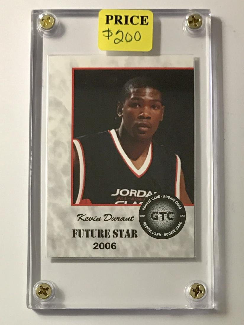 KEVIN DURANT Future Star Rookie Basketball Card