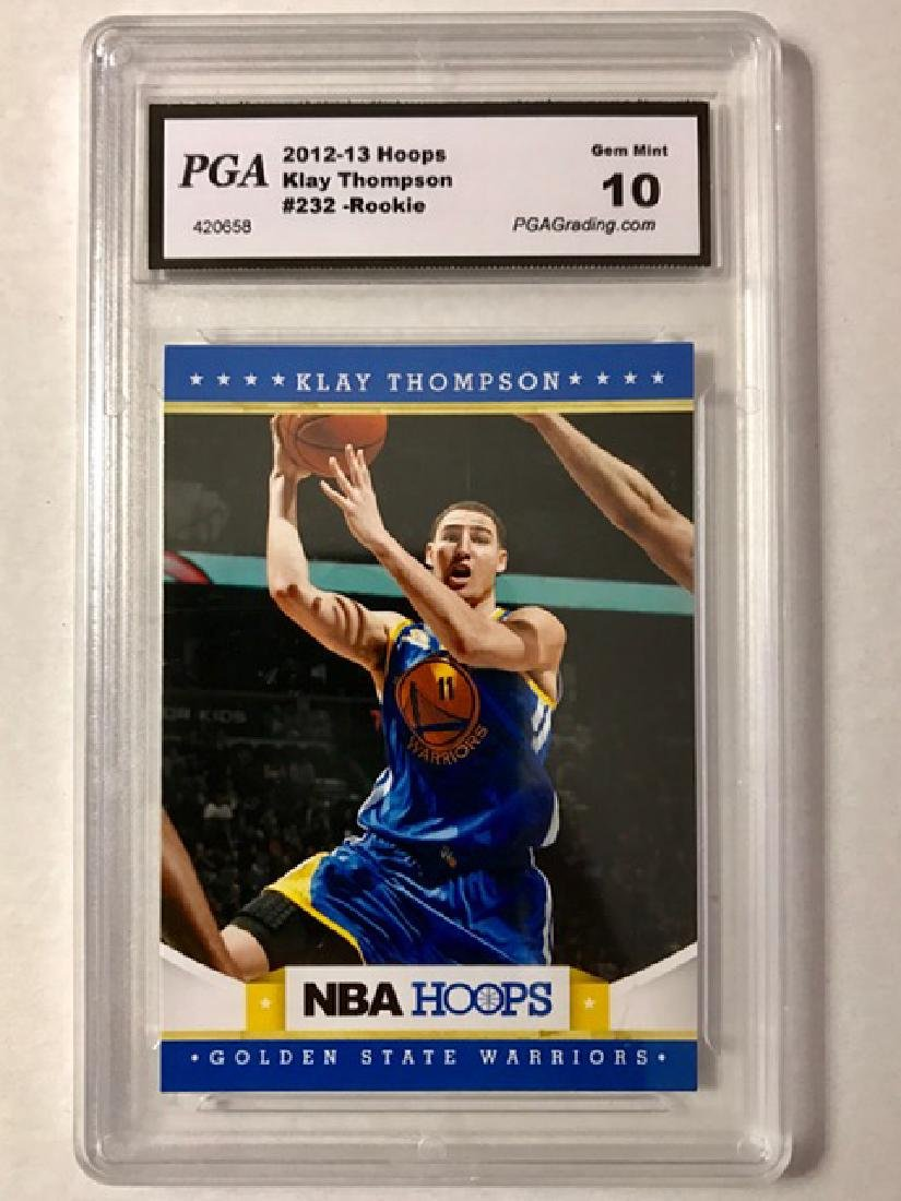 Gem Mint 10 KLAY THOMPSON Rookie Basketball Card