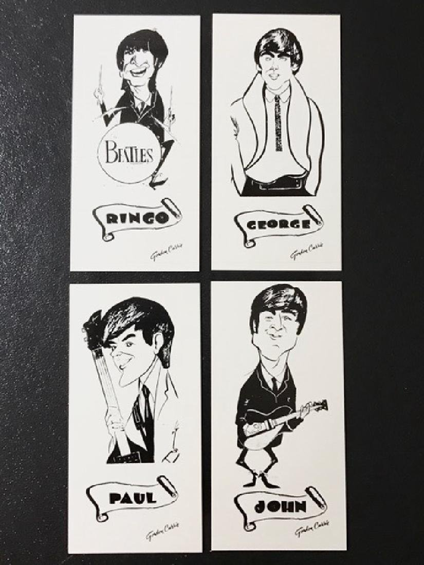 1964 The BEATLES Signed Art Cards/GORDON CURRIE