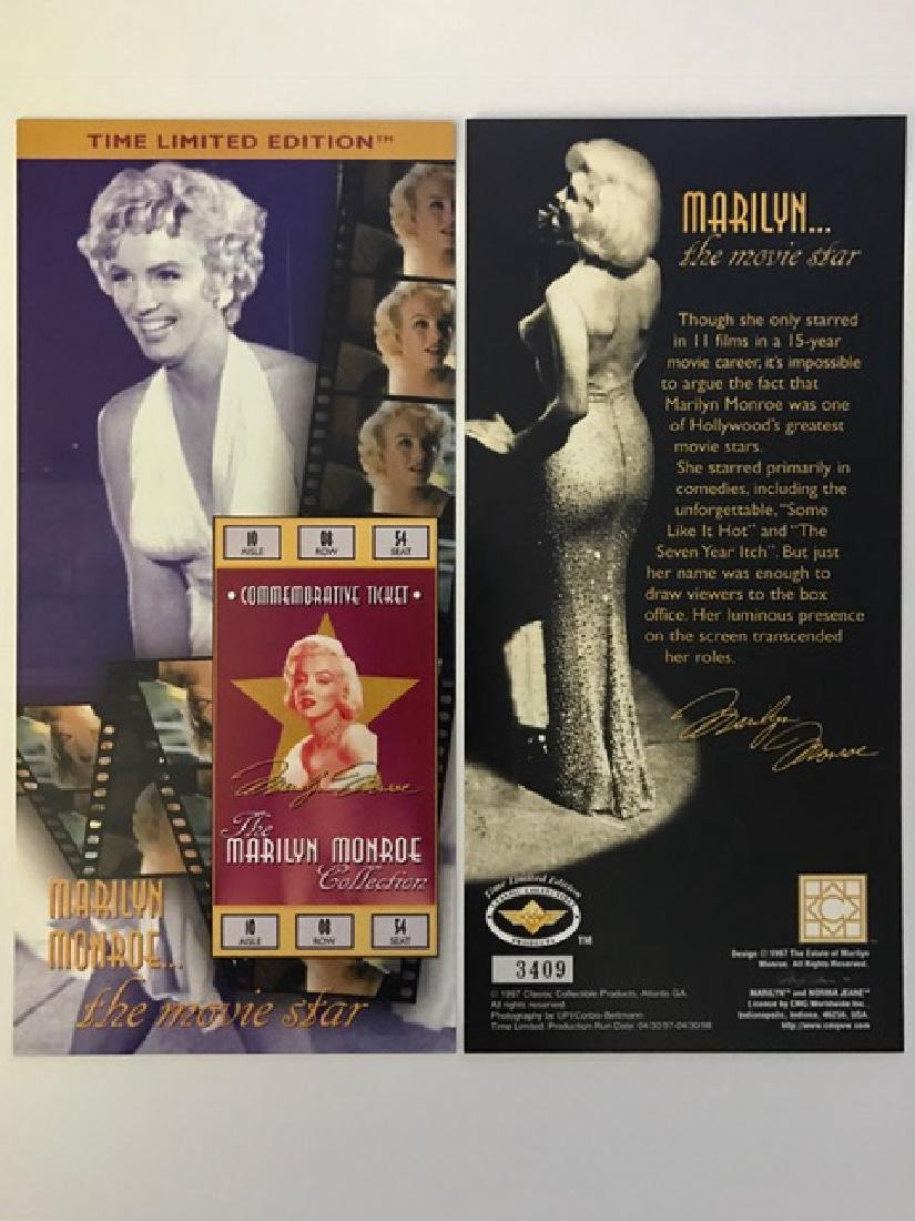 "Rare LTD Edition MARILYN MONROE ""Glamour Girl"""