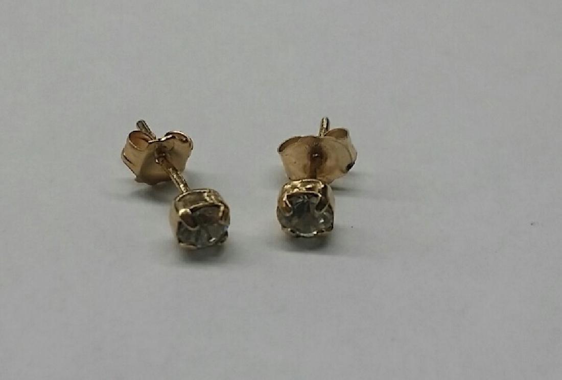 Vintage 14kt Gold Earrings